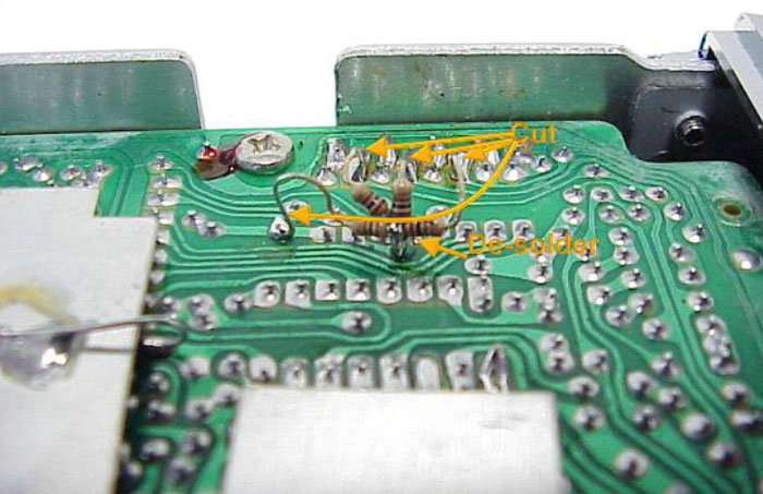 General-Lee-Solder-Side-Of-Circuit-Board