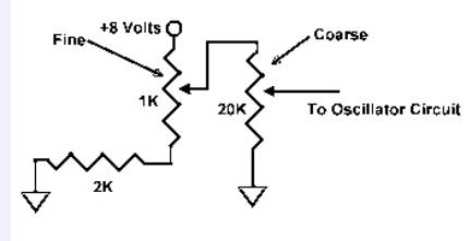 The following is a schematic for a finecoarse clarifier control