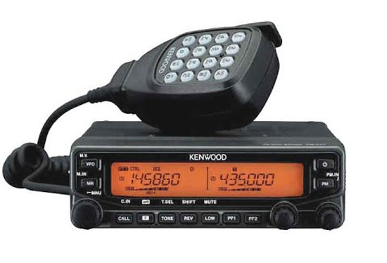 CB Radio with Proper Etiquette